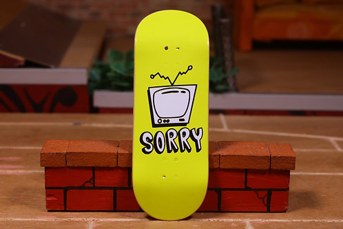 """Sorry """"TV Yellow"""" Pops SF1 34mm"""