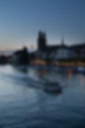 patrick gutenberg, blaue stunde, bootsfahrt, limmat, dämmerung, lichtstimmung, beleuchtung, zürich