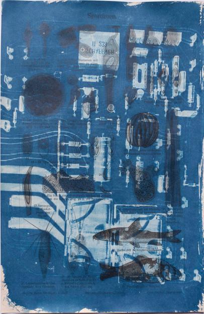 Amalgamated Fragmentation / Technosphere- Board 1