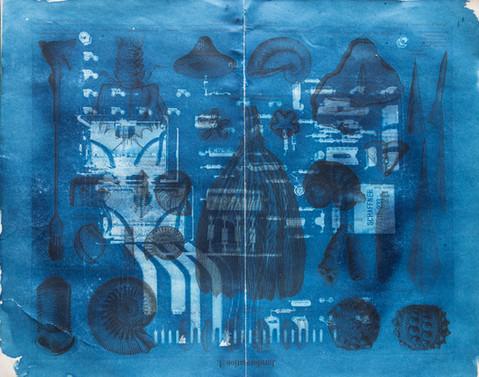 Amalgamated Fragmentation/ Technosphere- Board 09