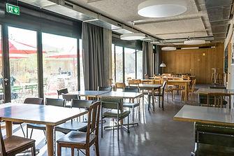 Cafeteria, Unterrcihtsräume, Kursraum Genossenschaft Kalkbreite Zürich