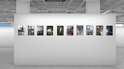 florence iff, Präsentation, Ausstellung, Photobastei Zürich, Fotografie, Hängung, Show