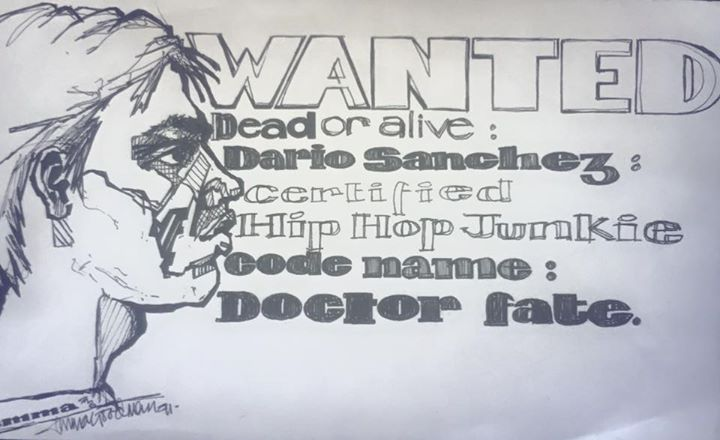 Blast from the past, a portrait I drew of Dario- in 1991..