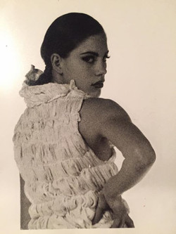 Photoshoot circa 1992 - for Hussein Chalayan (who was in my year..