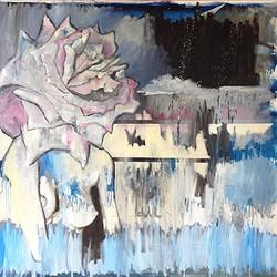 Untitled (Blue Moon Rose)