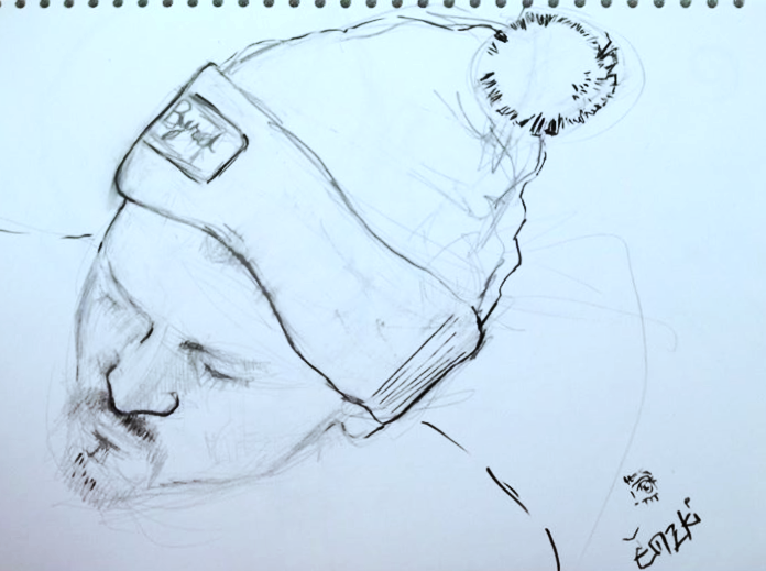 Sketch of Mike Mike O'Brien - not finished.._edited