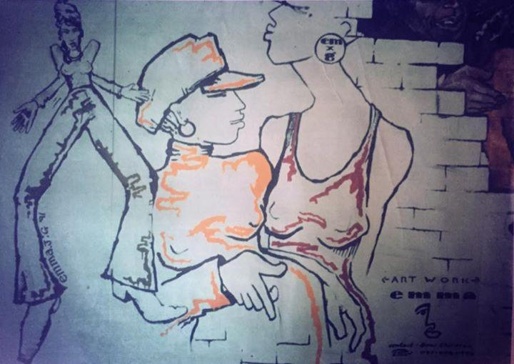 My first mural! #acidjazz #quaffrecords #berwickstreet #graffiti #music #soul #funk #oldskool #londo