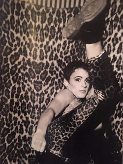 #fashionshoot #kickboxing #fashion #leopard #centralsaintmartins _When I developed every shot in the