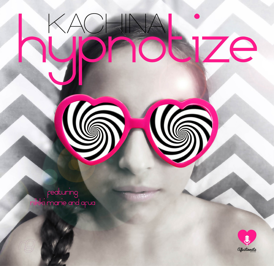 Chloe for the cover of 'Hypnotize' which we also designed.