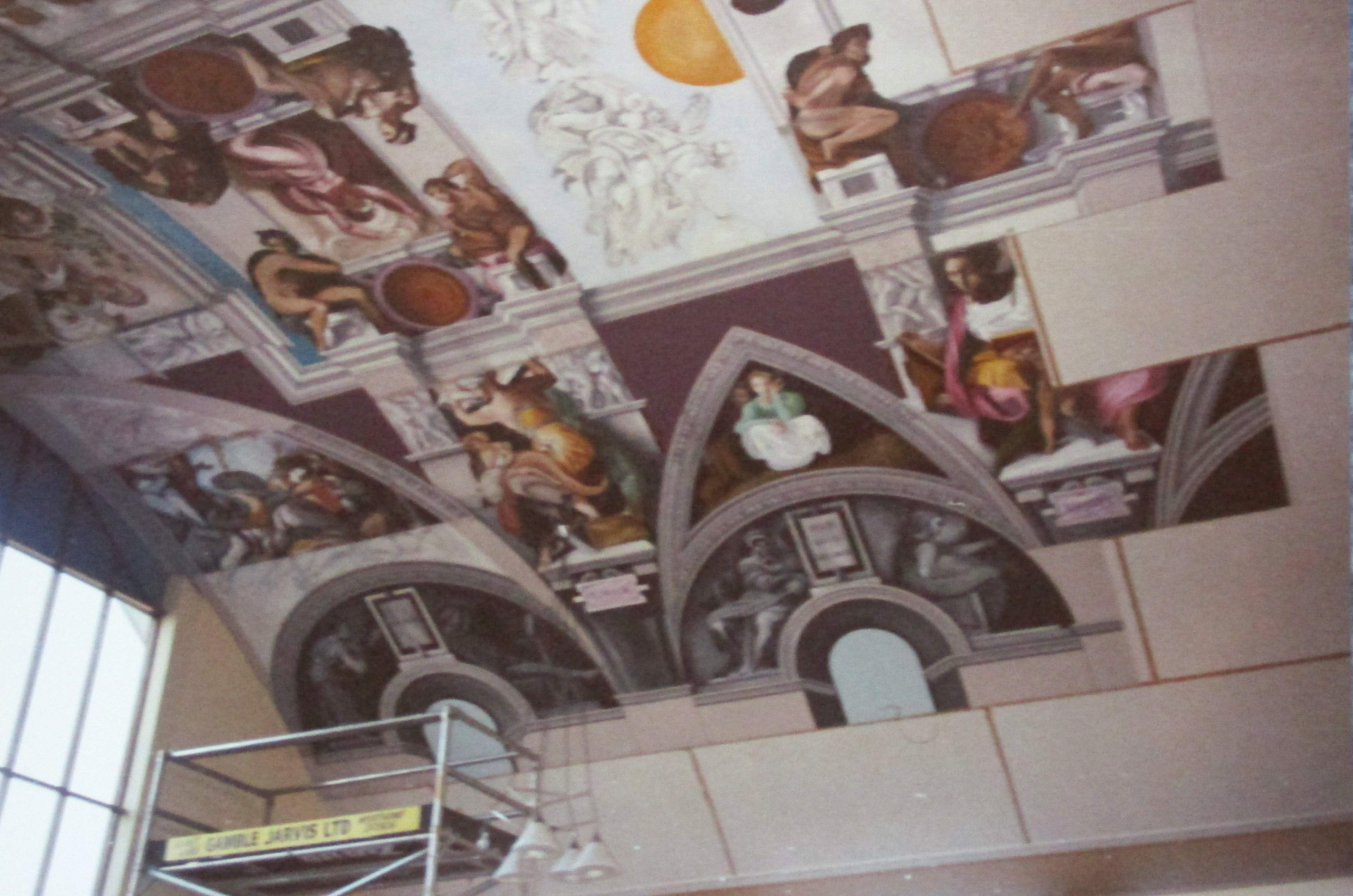 Sistine Chapel Ceiling Reproduction UK,