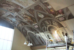 Sistine Chapel Reproduction, UK, sistine