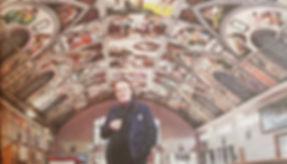Gary Bevans artist of the Sistine chapel