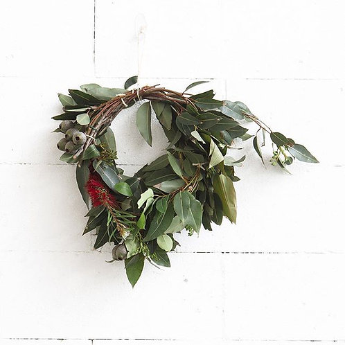 Native Australian wreath