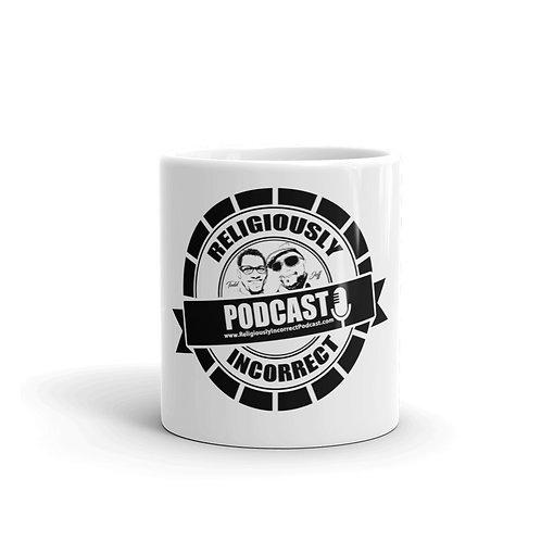 Religiously Incorrect Podcast Branded Mug a