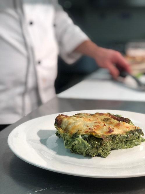 Ricotta, Spinach & Pesto Lasagne