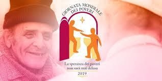 III Giornata mondiale dei Poveri 17-11-2019: nelle nostre Parrocchie