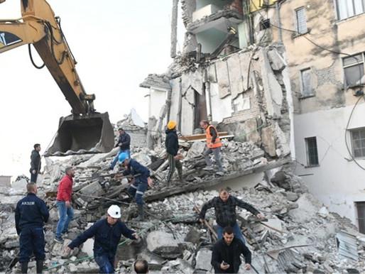 TERREMOTO IN ALBANIA condividiamo le notizie da Caritas Italiana