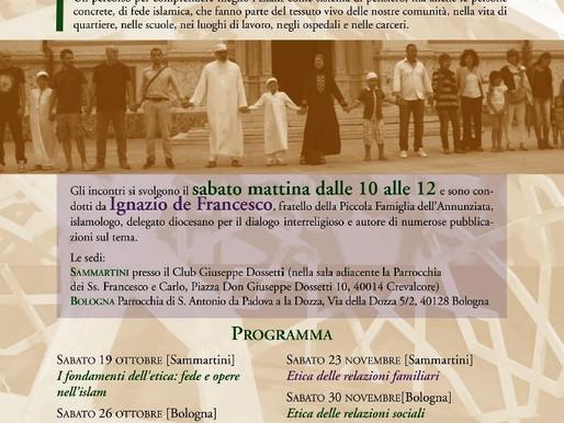 ETICA ISLAMICA. Ne parla fratel Ignazio de Francesco