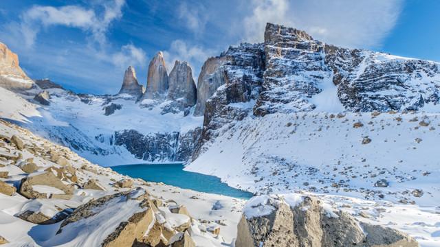 Torres del Paine - Tower Base Ascencio