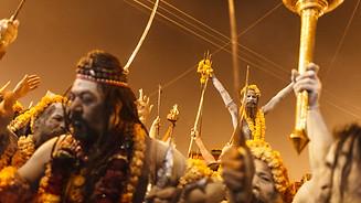 The Naga Baba are preparing for the ritu
