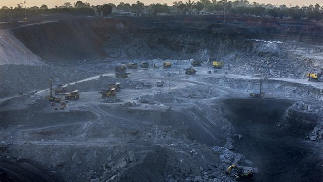 A coal mine of Jharkhand