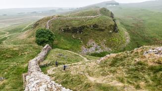 Sycamore Gap on the Hadrian Wall- Robin Hood tree