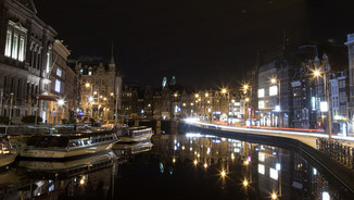 Also water streets in Amsterdam - Netherlands