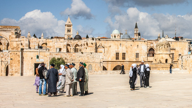 The landscape (and life) on the Temple Mount