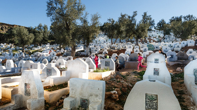 The landscape (and life) in a Muslim cem