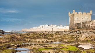 The walled medina of Essaouira
