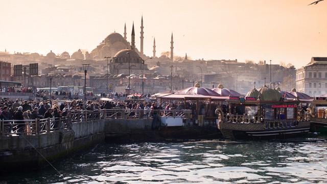 The Suleymaniye Camii Mosque