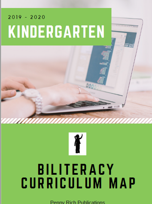 Biliteracy Curriculum Map - K - 5 Bundle