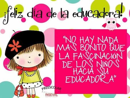 Feliz Día de la Educadora Infantil