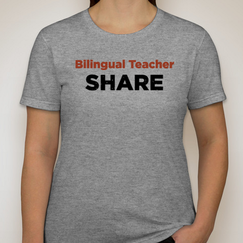 Bilingual Teacher Share T-shirt
