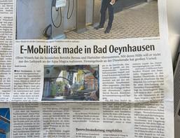 E-Mobilität made in Bad Oeynhausen - MT