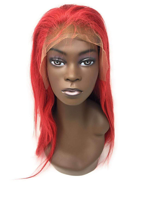Red Hot Straight Lace Front Wig