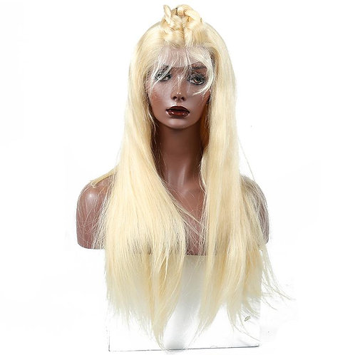 Blonde #613 Straight Lace Front Wig