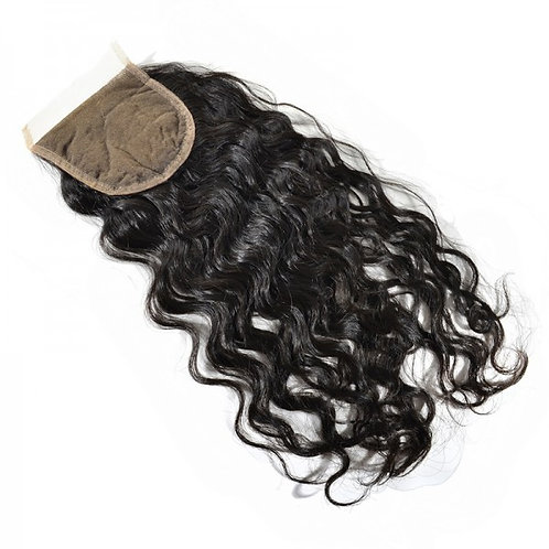 Glam Xpression Hair Collection Natural Wave Lace Closure