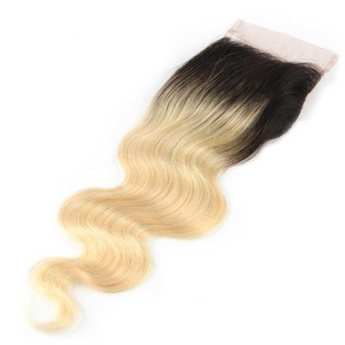 Tori's Crown & Glory 1B/613 Body Wave Closure