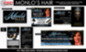 Monlo's Hair created by iZiggy Promotions