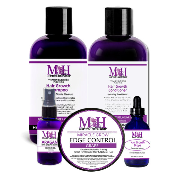 Miracle Mink Hair Grows Combo Pack 2