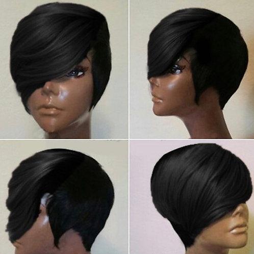 Tori's Crown & Glory Brazilian Mink Short Side Slay Wig