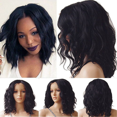 9A Kim Natural Wave Bob Style Wig
