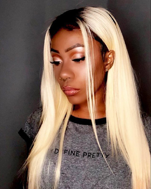 1B/613 Ombre Silky Straight Bundles