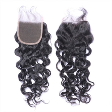 Tori's Crown & Glory Brazilian Mink Water Wave Closure