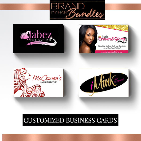 Brand My Hair Bundles Business Cards