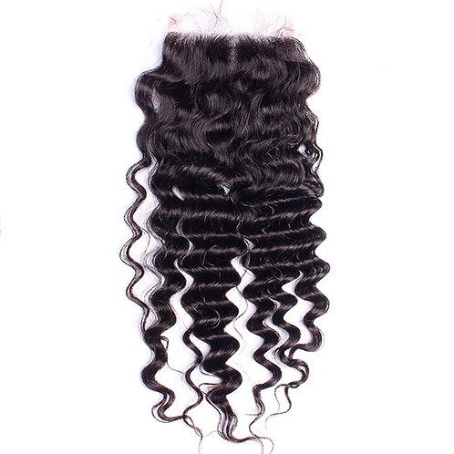 Milan's Hair Box Deep Wave 4x4 Closure