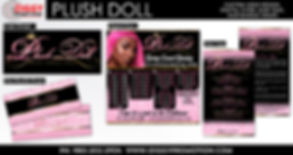 Plush Doll Hair Extensions created by iZiggy Promotions