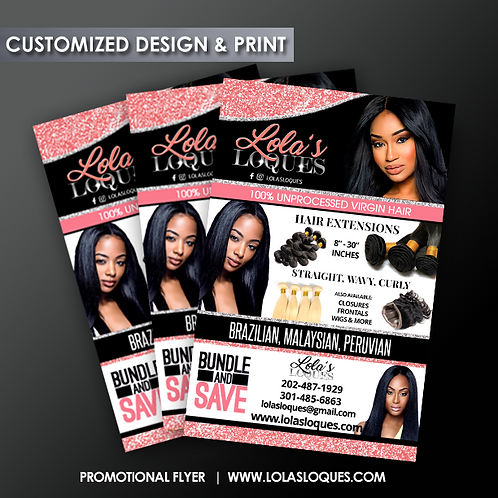 Custom Designed Flyers