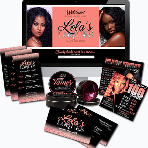 Start a Hair Extension Company with the New Year, New Brand Deal